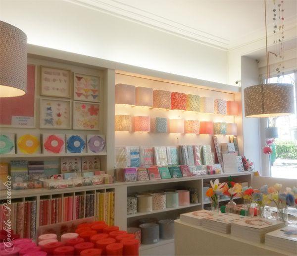 Les petits papiers japonais, origami, décoration authentique & artisanale ♥ Immersion dans la jolie boutique d'Adeline Klam à Paris