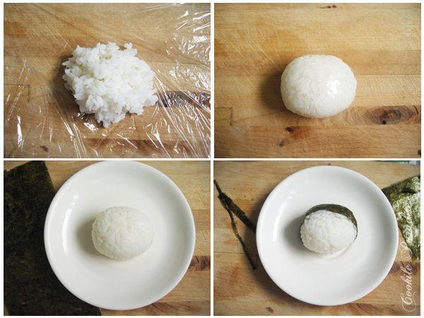 Bento kokeshi Aoki ♥ sushi de saumon fumé-nori, légumes sautés & fruits rouges de la saison