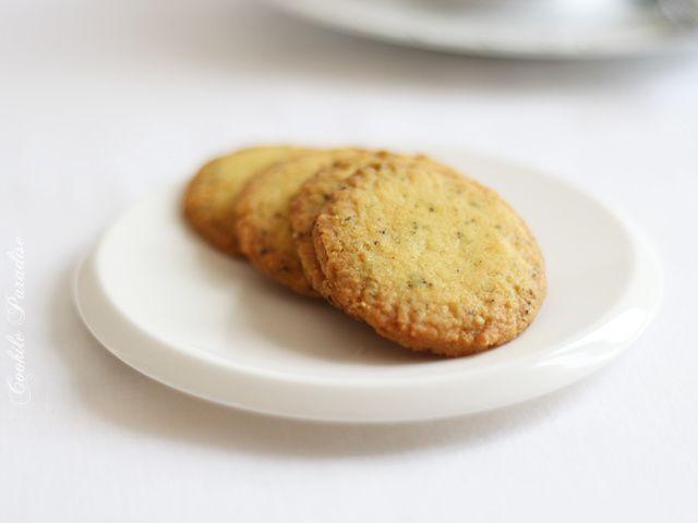 Thé noir Grand 'Bois Chéri' & Sablés au thé vert-sakura ♥ Mariages Frères