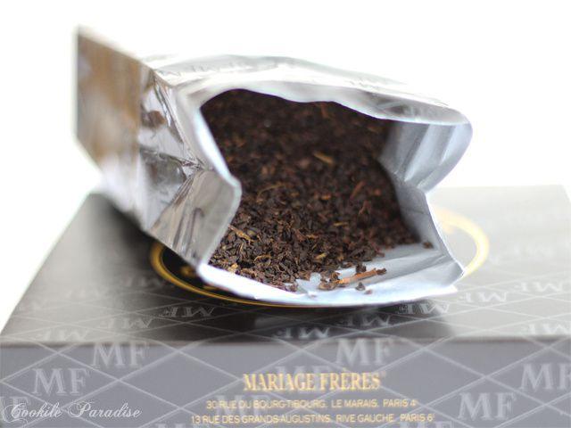 Thé noir Grand 'Bois Chéri' &amp&#x3B; Sablés au thé vert-sakura ♥ Mariages Frères