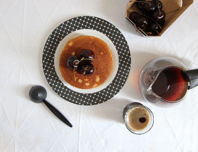 Pancakes à la banane &amp&#x3B; aux quatre épices