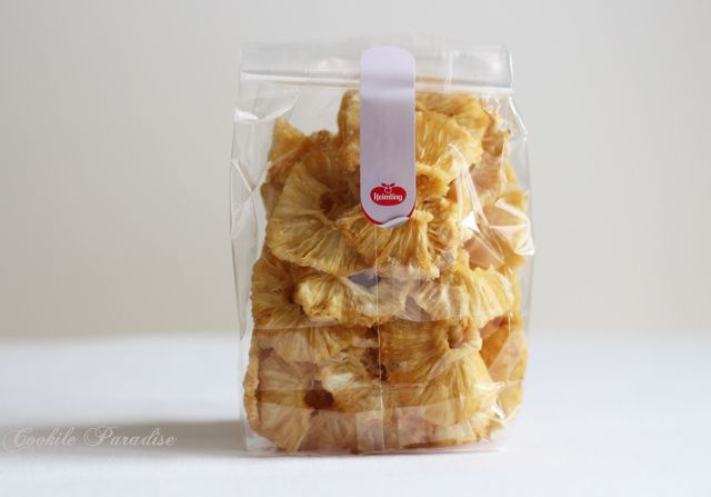 Ananas-banane rôties aux baies de Goji ♥ Un petit dessert gourmand avec les produits naturels Kiemling