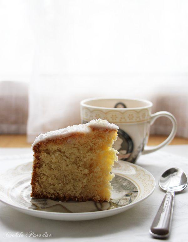 Massepain cake coco ♥ Le gâteau de fête de mon Île Maurice