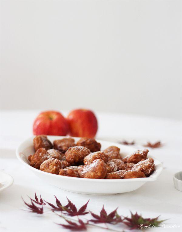 Beignets aux pommes & cannelle