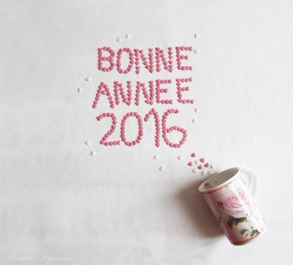 Bonne et Heureuse Année 2016 ! ♥ ♥ ♥