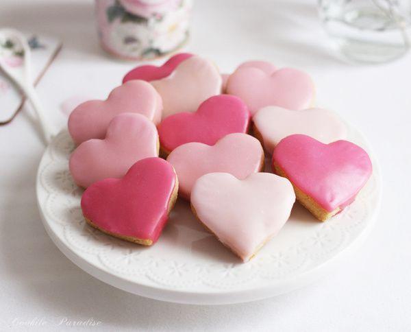 Petits cœurs sablés et  parfumés aux épices pour la Saint Valentin ♥♥♥