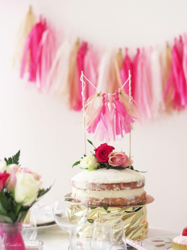 Décoration et table de Mariage en rose et or pour une ambiance douce et romantique