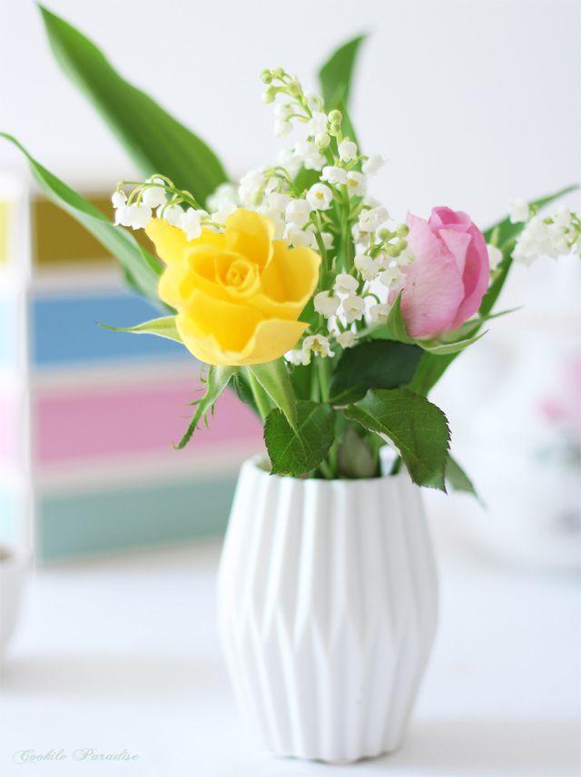 Tea time fleuri et fruité pour le 1er mai ♥