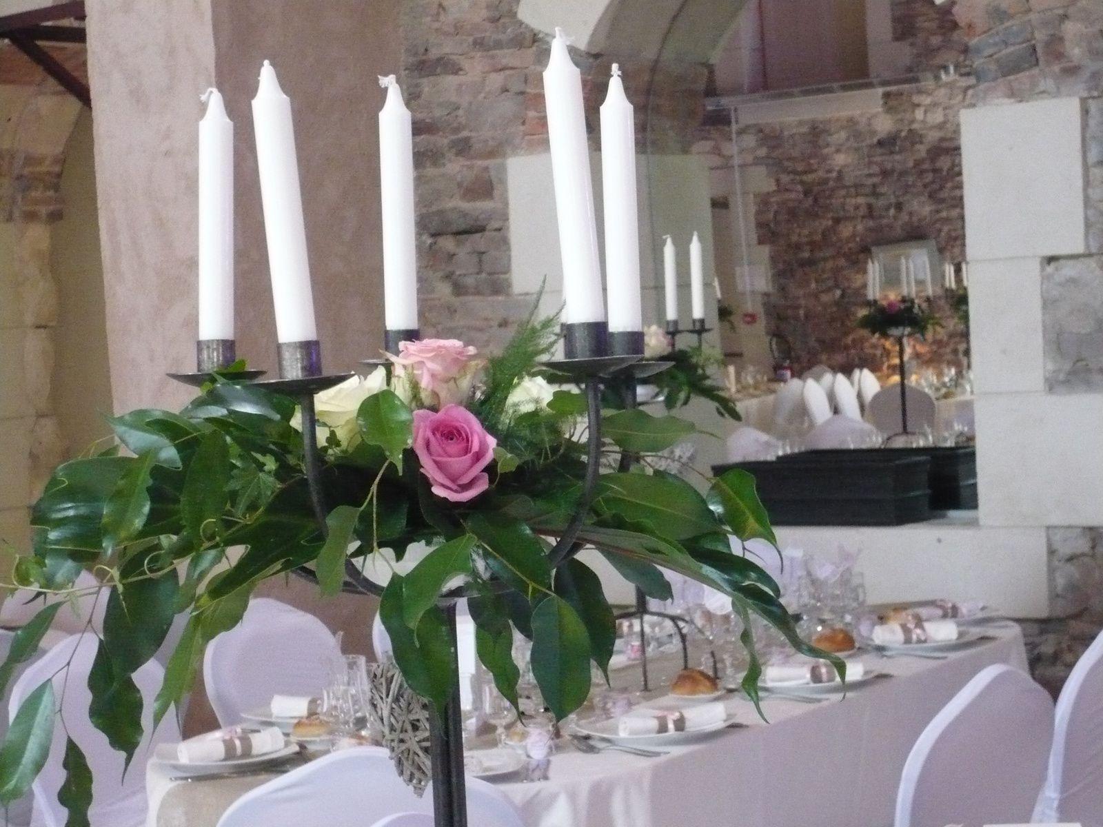 Déco tables et chaises de mariage