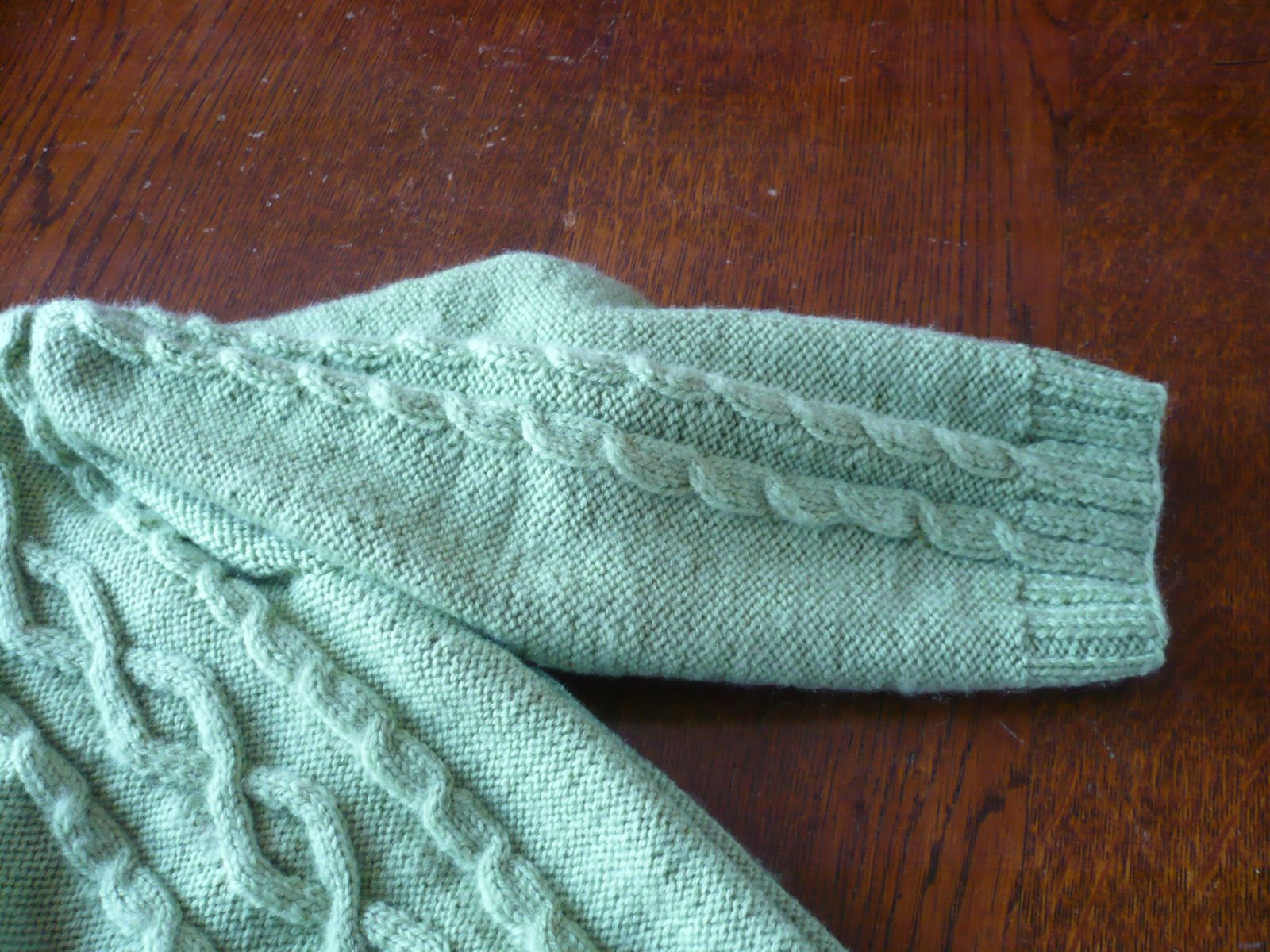 gilet 3 - 4 ans en laine Fonty BB mérinos