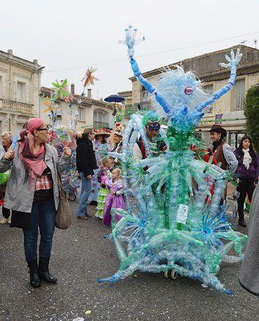 Drôle de carnaval à Lunel-Viel