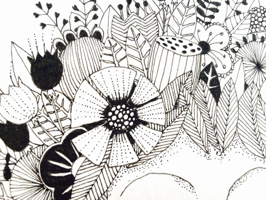 Elle à fleurs et lui chêne