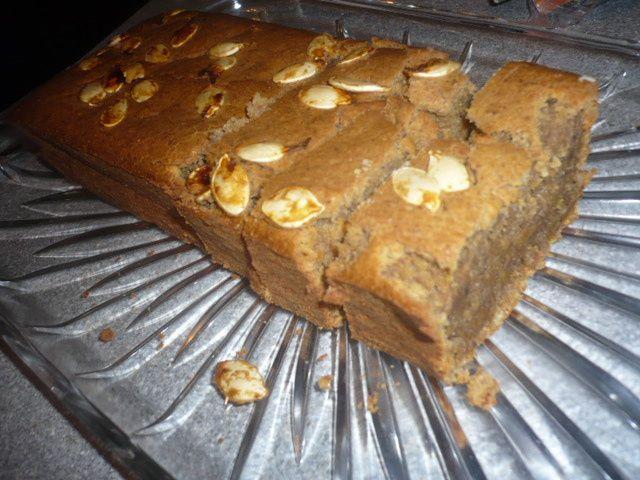 Testé le gâteau de potiron aux épices