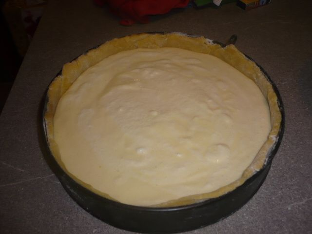 Grande tarte au fromage blanc : the recette !