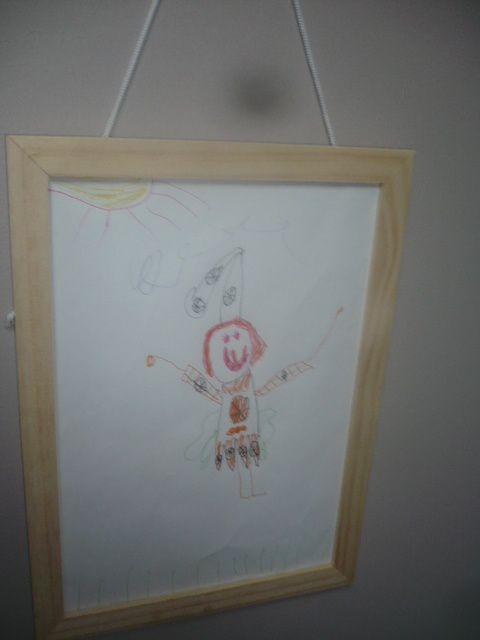 Mettez en valeur les dessins de vos enfants