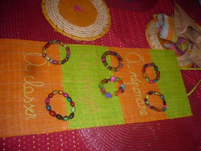 Pour Noel voici l'artisanat malgache que j'offrirai cette année :