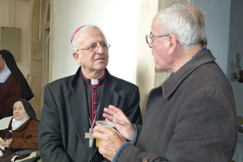 Mgr William Hanna SHOMALI, évêque auxiliaire de Jérusalem et Vicaire Patriarcal soutient l'Assocaition &quot&#x3B;Béthanie-Lumières d'Orient&quot&#x3B;.