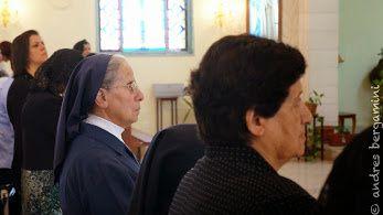 TERRE SAINTE : Tout Zababdeh rassemblé pour fêter le Jubilé de vie consacrée d'une Fille de la Charité palestinienne&#x3B; Sœur Marie Noëlle