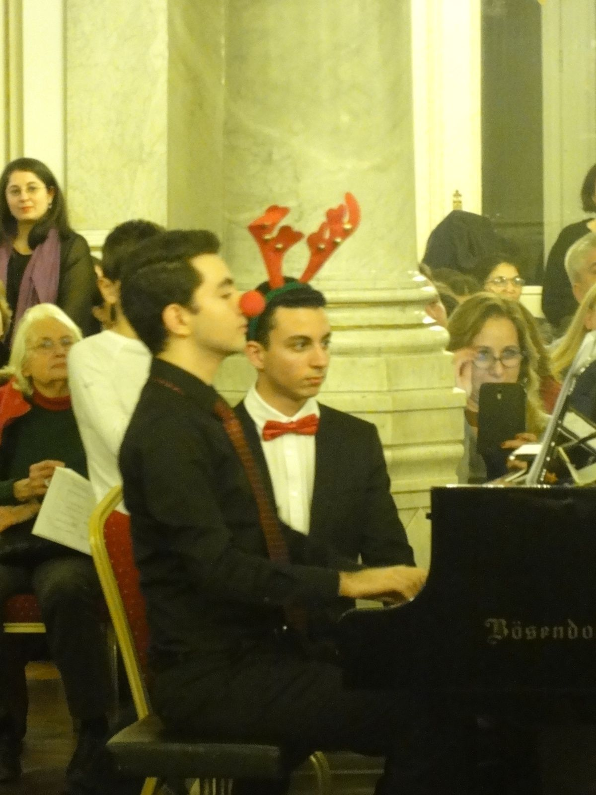 TURQUIE : On a chanté Noël au Consulat Général d'Autriche, à Istanbul