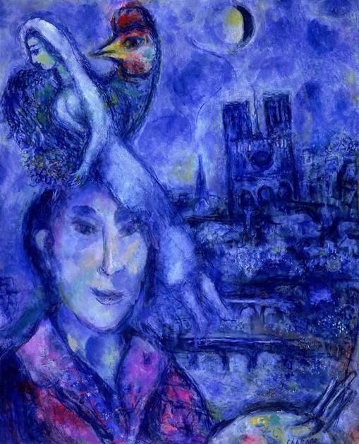 Noël : Dans la nuit la plus longue (Marc Chagall)