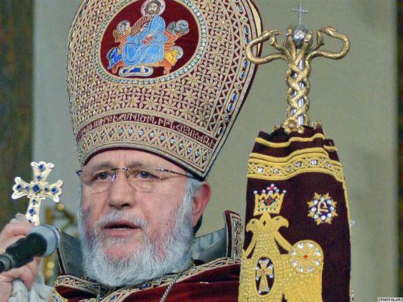 Le Patriarche Karekine II ouvre le centenaire du &quot&#x3B;génocide arménien&quot&#x3B;