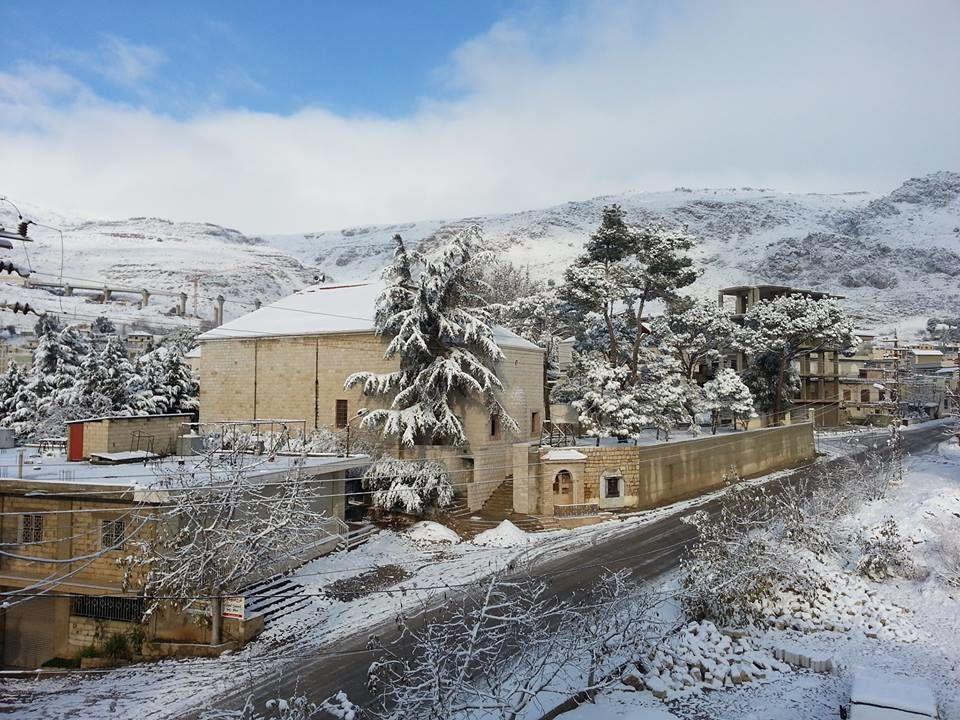 LIBAN : une tempête accompagnée de neige arrive au Liban