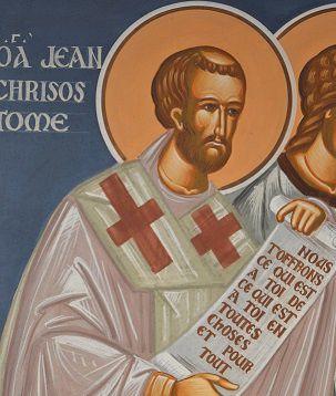 CHRETIENS ORIENTAUX, FRANCE 2 - « Saint Jean Chrysostome, la bouche d'Or » (Emission du dimanche 5 avril 2015 - 9h30 à 10h00 - France 2)