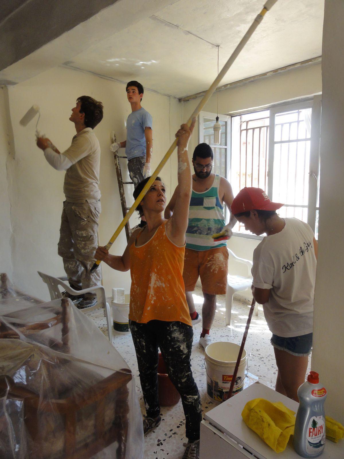 Camp au Liban cet été... des mains et du coeur... Non, ce n'est pas fini (2) !!!