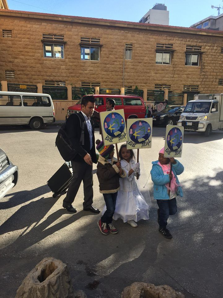 LIBAN : Noël à l'Ecole Beth Aleph - Educatio d'enfants immigrés et réfugiés...