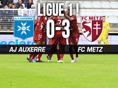 Les opposés. Le FC Metz sacré champion, l'AJA évite le National.
