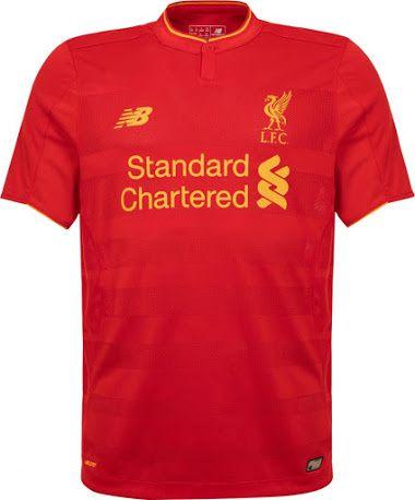 Le maillot de Liverpool 2016-2017