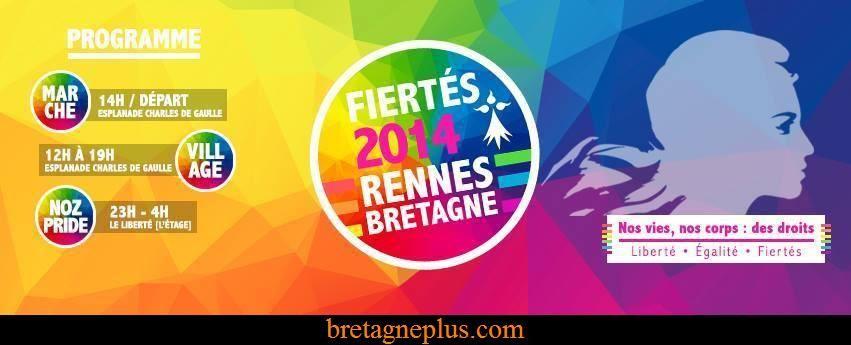 Marche des Fiertés Rennes 2014