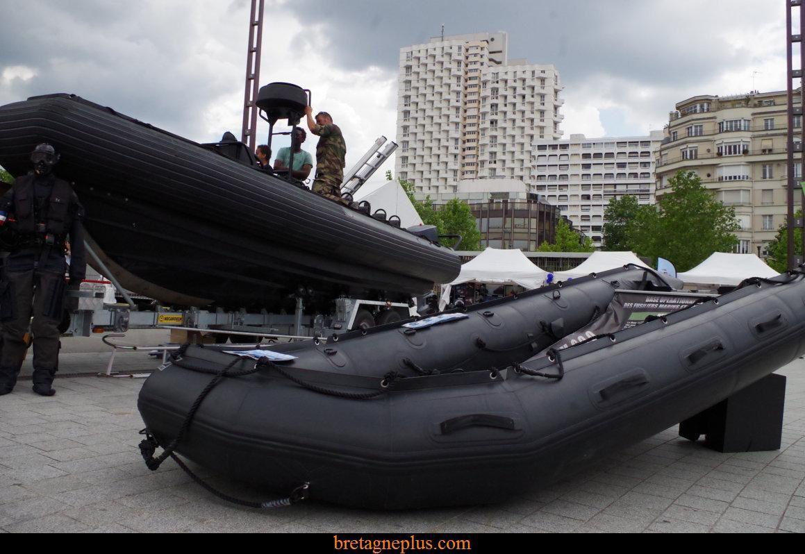 Les marins débarquent à Rennes