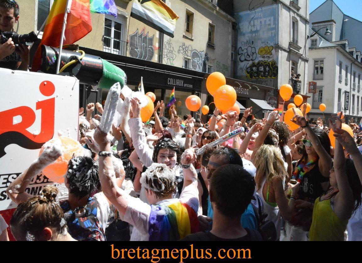 Marche des Fiertés Rennes 2015