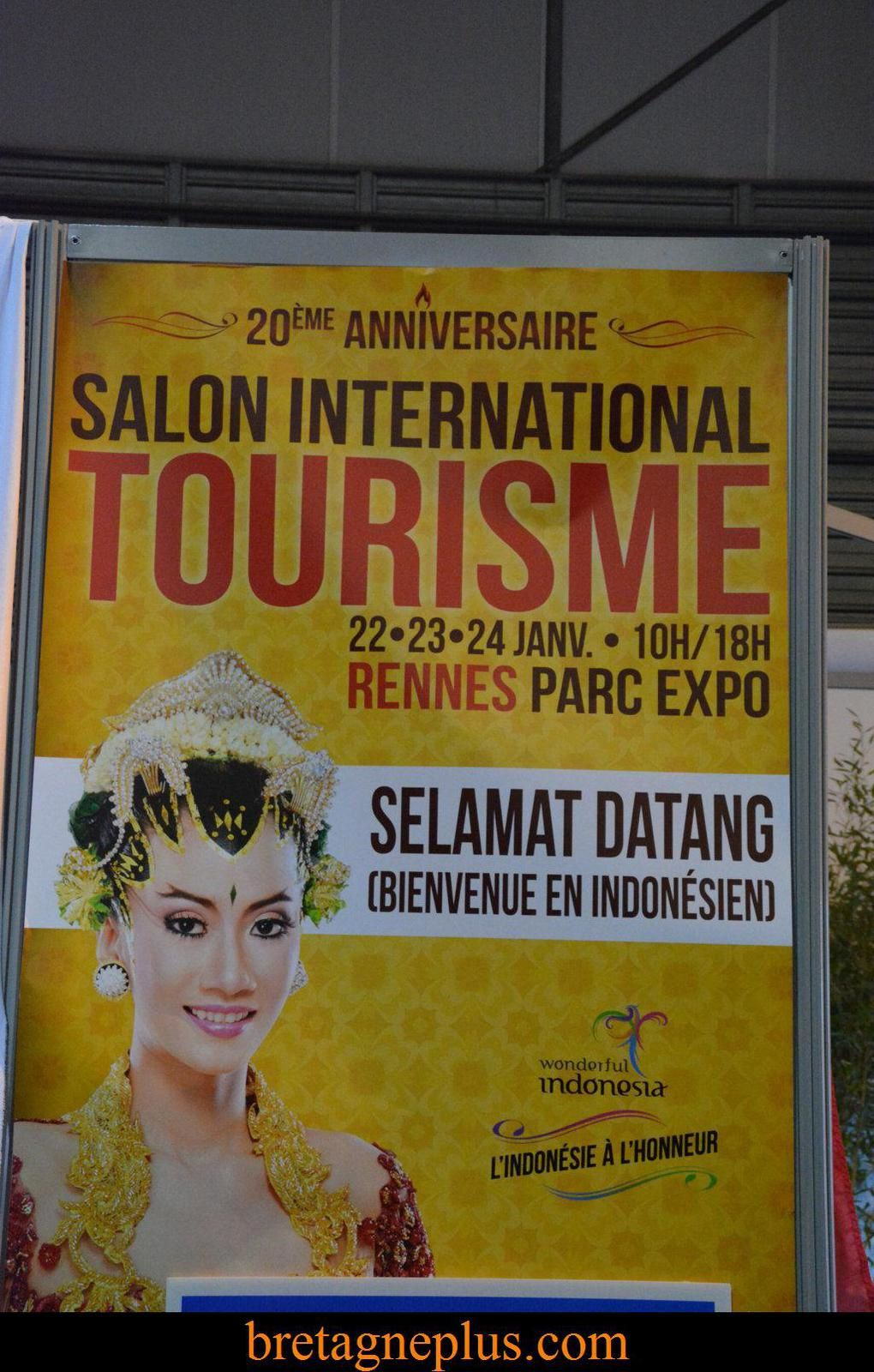 Salon international du tourisme de rennes 2016 for Salon international du tourisme rennes