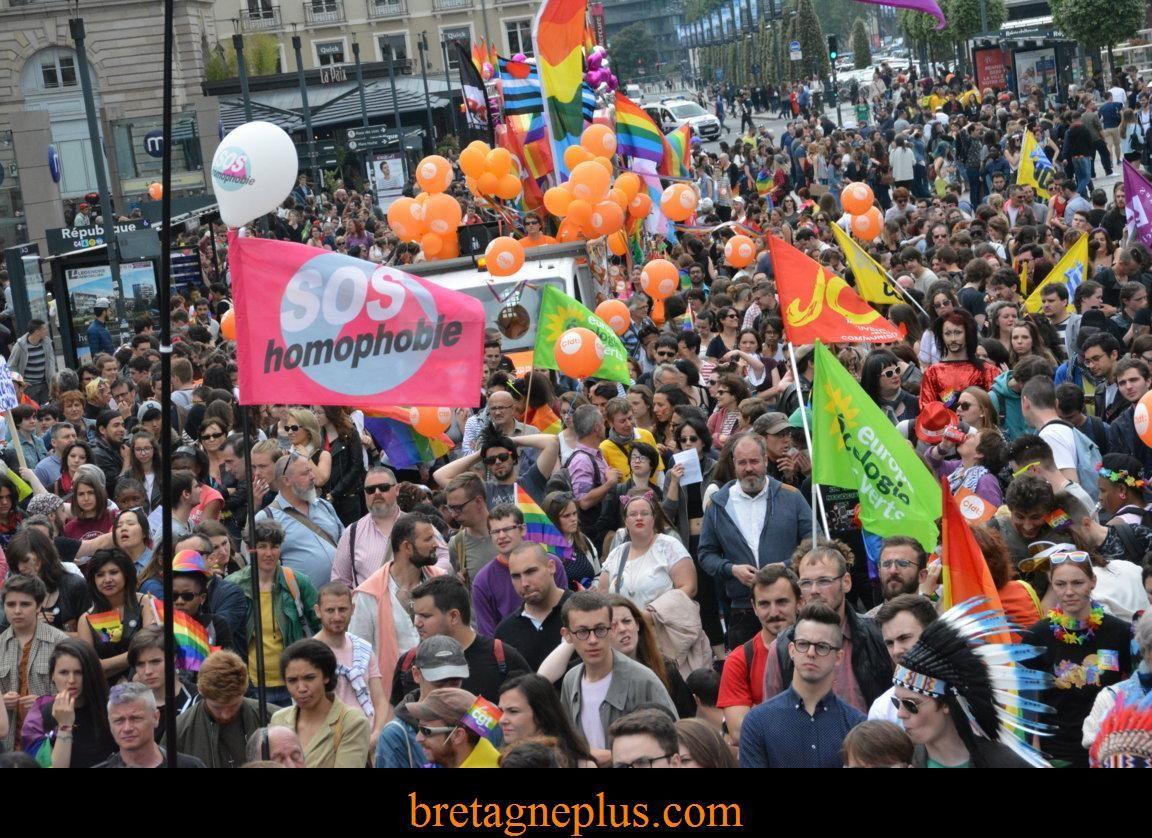 Marche des Fiertés Rennes 2016