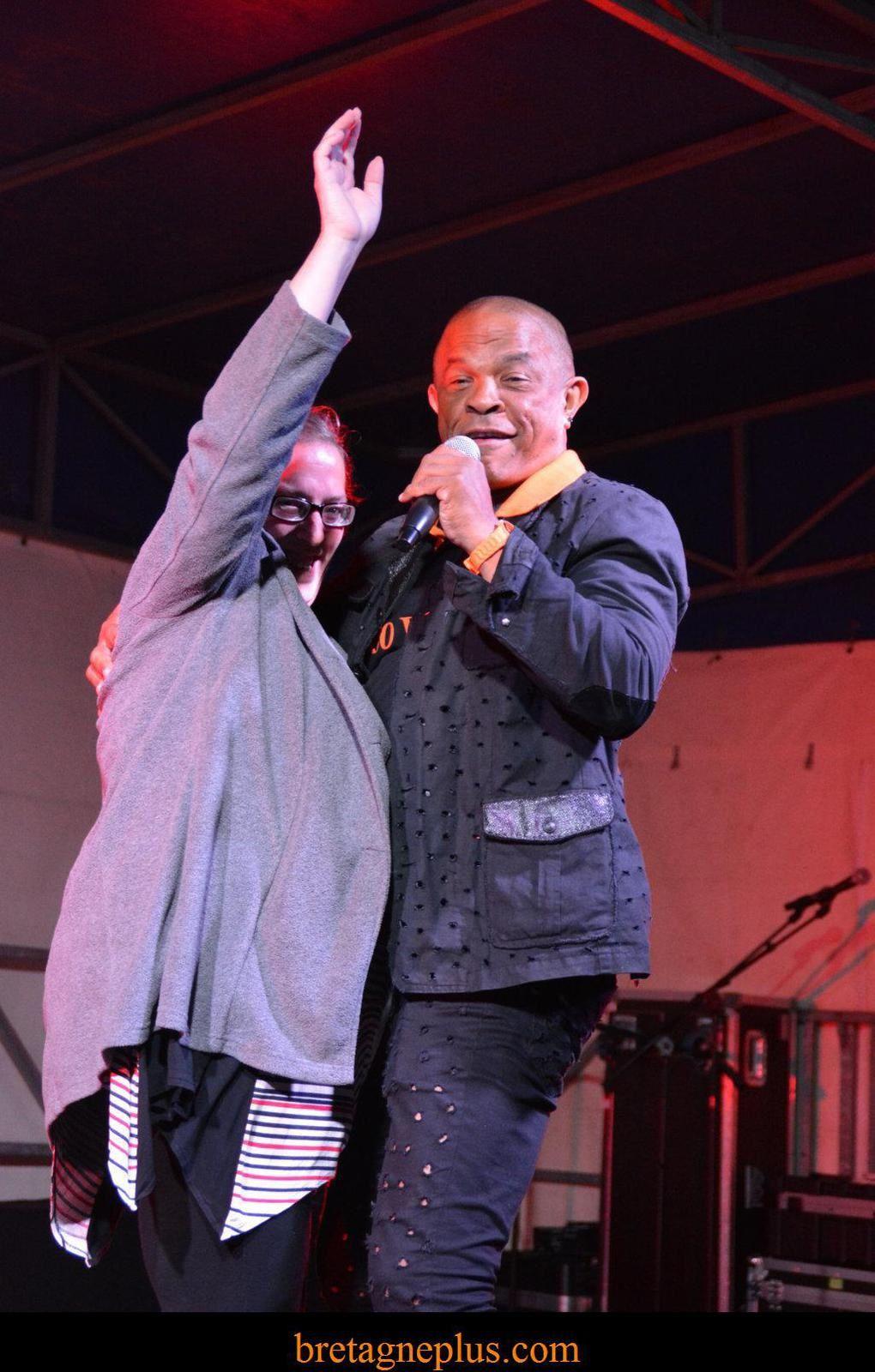 Francky Vincent en concert à Redon
