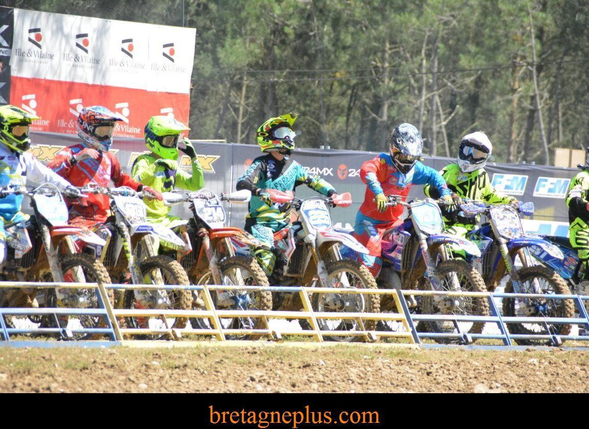 Championnat de France Motocross MX Elite/ Féminin Iffendic 2016