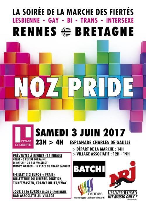 Marche des Fiertés Rennes 2017