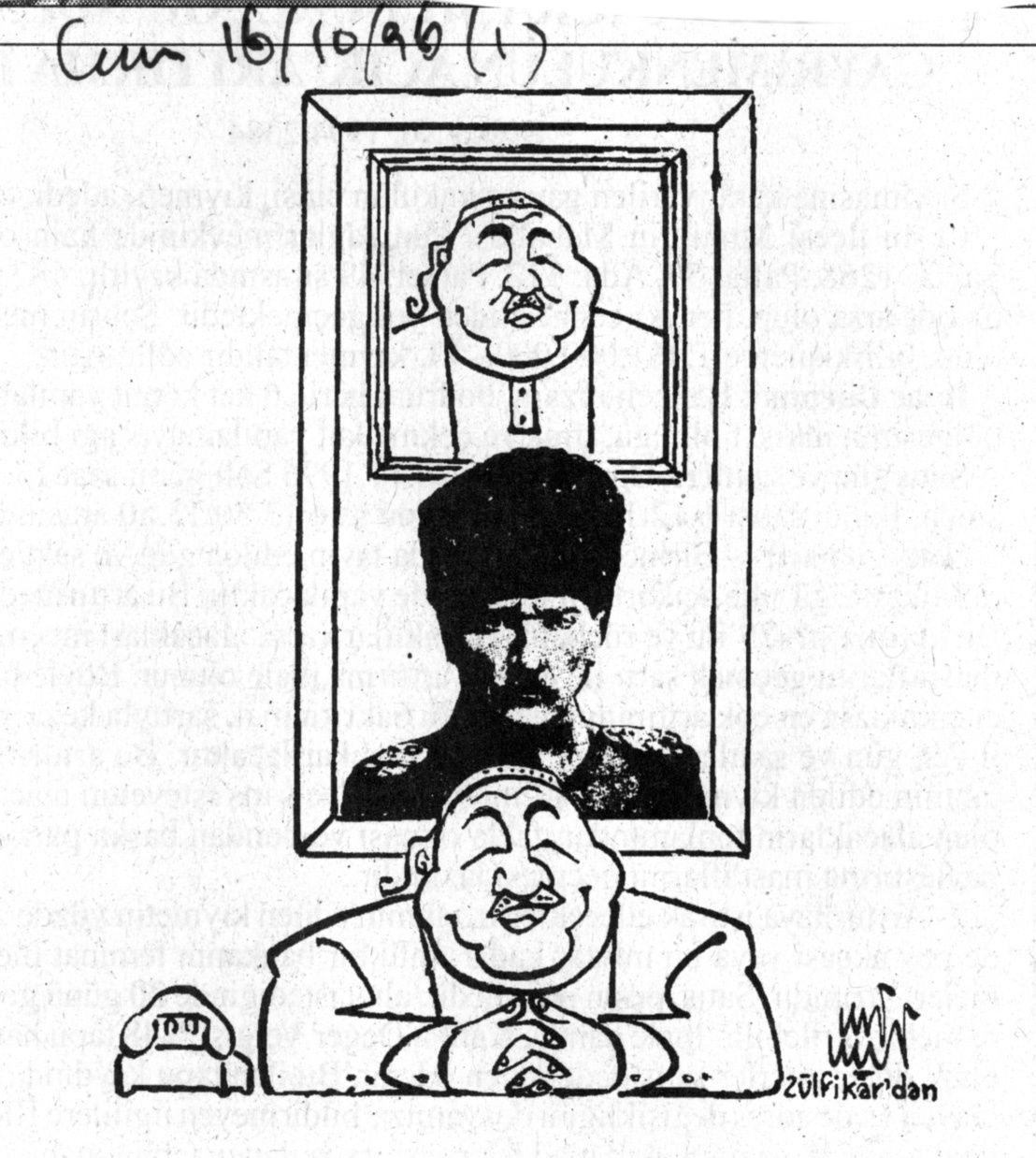 Ali Ulvi, Cumhuriyet, 16 octobre 1996