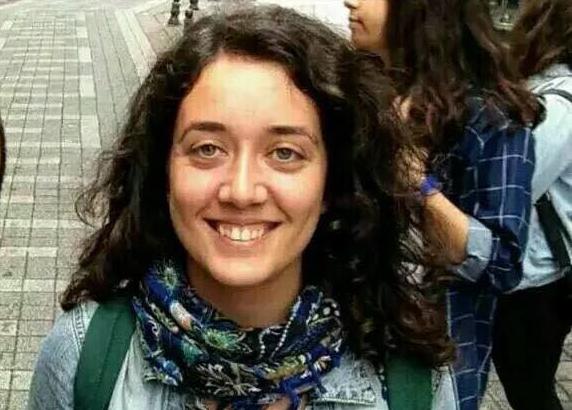 Büsra Mete, 23 ans. Photo http://haber.sol.org.tr