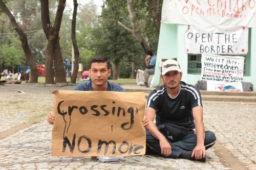 """Réfugiés syriens du groupe FB """"Crossing no more"""" à Edirne. Toutes les photos de cet article sont de Meral Candan, bianet.org"""
