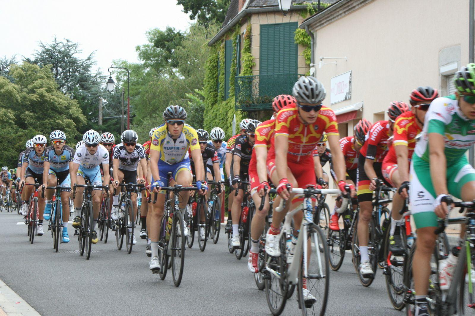 Le tour d'Auvergne cycliste
