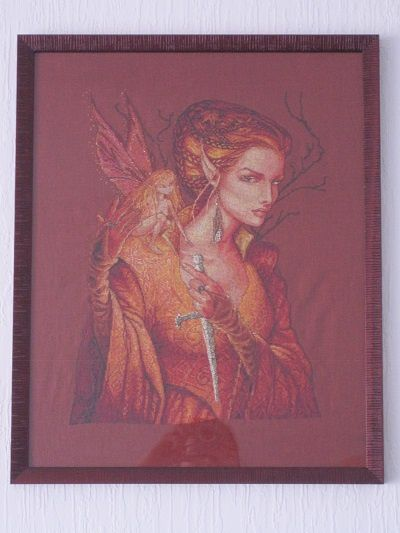 la reine des fées de Nimuë - encadrement