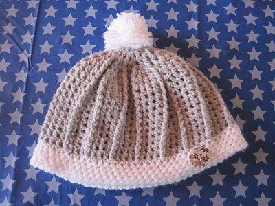 un bonnet avec de la laine de chez Zeeman