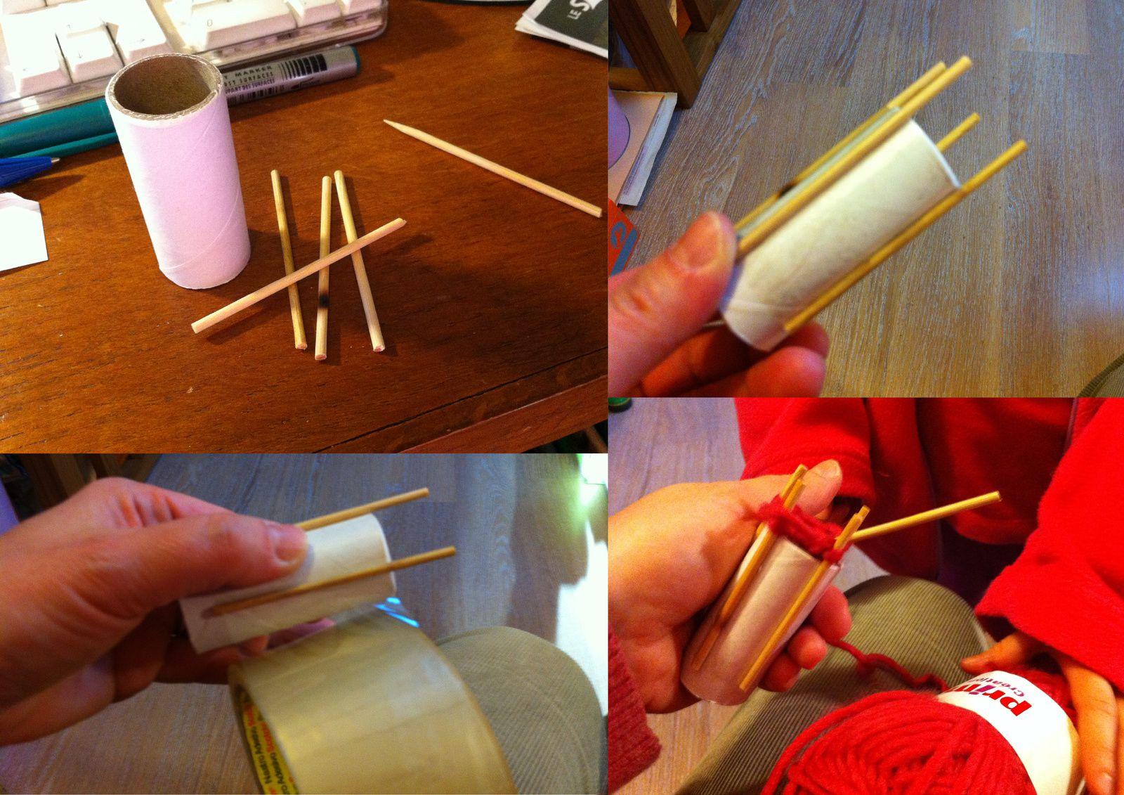 Comment fabriquer un tricotin maison ?
