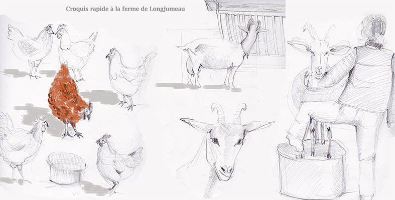 Quand Valérie dessine...