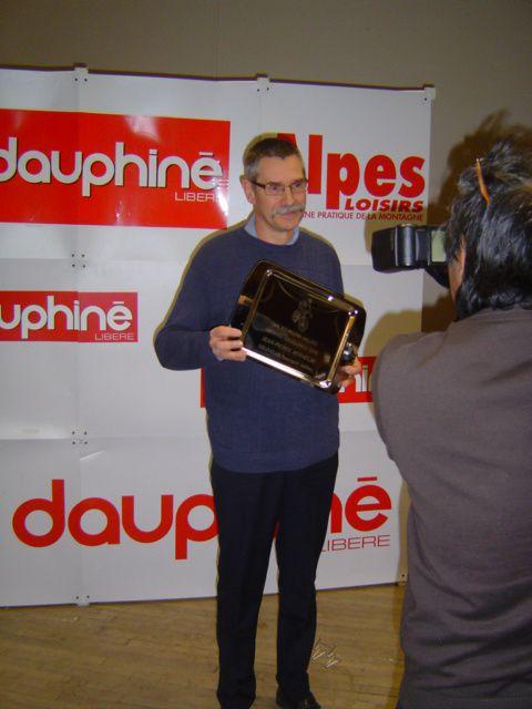 Trophée excellence 2010 remis par l'OMS de Bourgoin-Jallieu