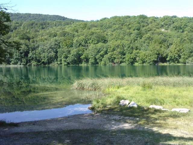 Le lac d'AMBLEON, enfin c'est plutôt un grand étang
