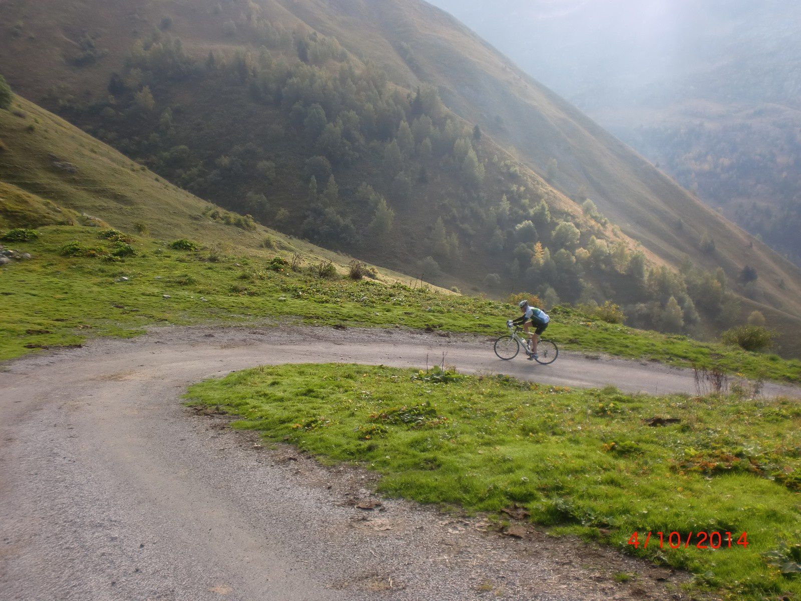 Vers le col du Sabot (photos JC)